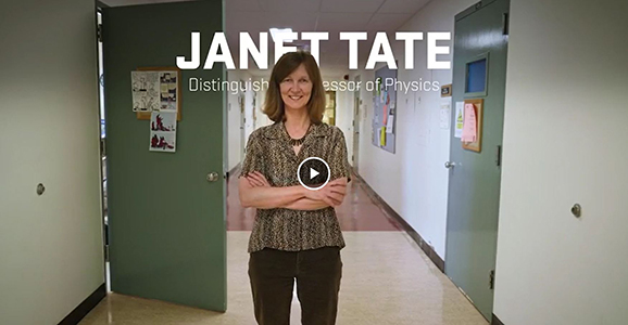 Janet Tate, Distinguished Professor video