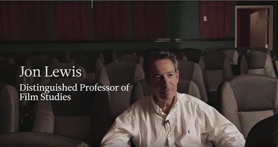 Jon Lewis, Distinguished Professor video