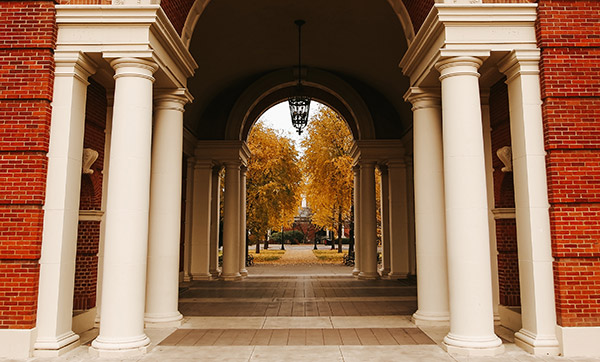 weatherford hall arch