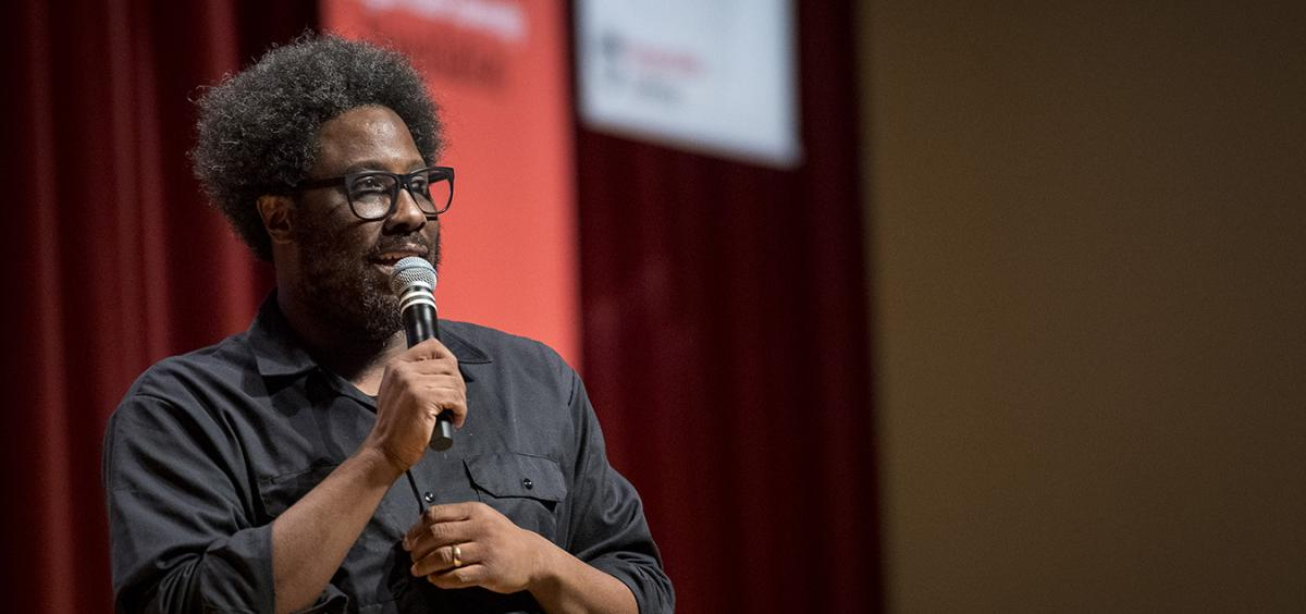 W. Kamau Bell at Provost's Lecture