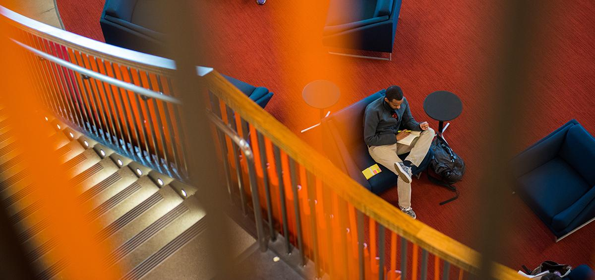 Student Experience Center staircase